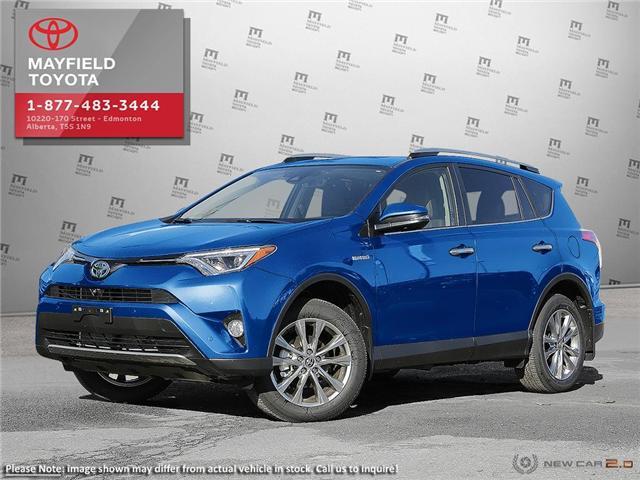 2018 Toyota RAV4 Hybrid Limited (Stk: 1802214) in Edmonton - Image 1 of 22