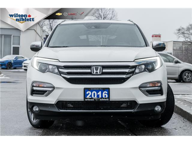 2016 Honda Pilot Touring (Stk: P504822) in Richmond Hill - Image 2 of 20
