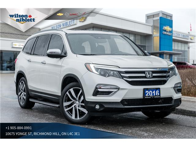 2016 Honda Pilot Touring (Stk: P504822) in Richmond Hill - Image 1 of 20