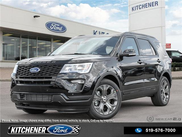 2018 Ford Explorer Sport (Stk: 8P9450) in Kitchener - Image 1 of 25