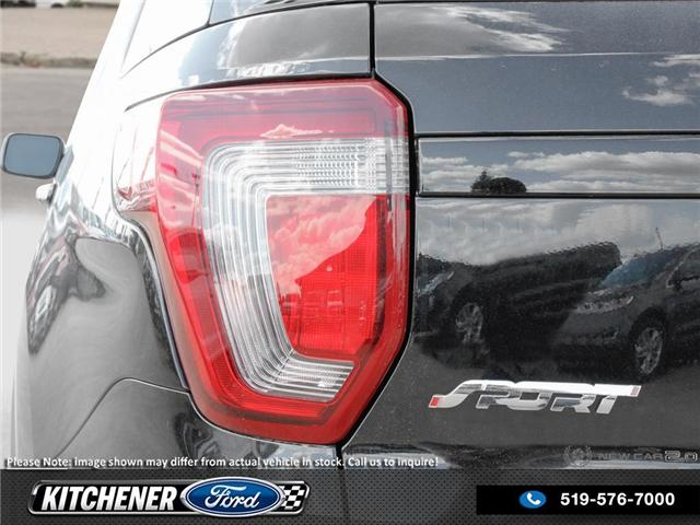 2018 Ford Explorer Sport (Stk: 8P9450) in Kitchener - Image 11 of 25