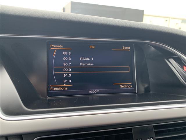 2015 Audi A4 2.0T Progressiv plus (Stk: FN007521) in Sarnia - Image 18 of 24