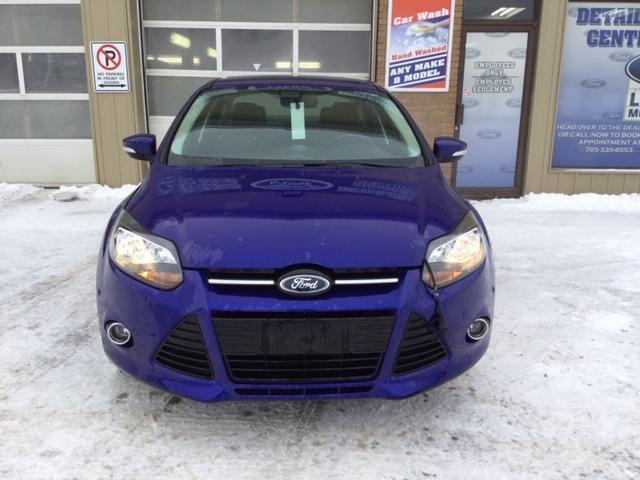 2013 Ford Focus Titanium (Stk: U-3762) in Kapuskasing - Image 2 of 8