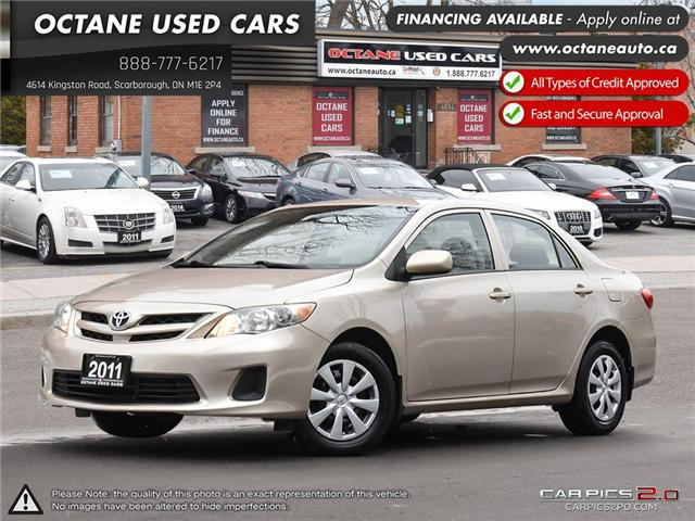2011 Toyota Corolla CE (Stk: ) in Scarborough - Image 1 of 27