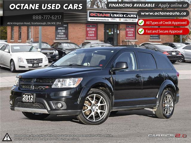 2012 Dodge Journey R/T (Stk: ) in Scarborough - Image 1 of 27