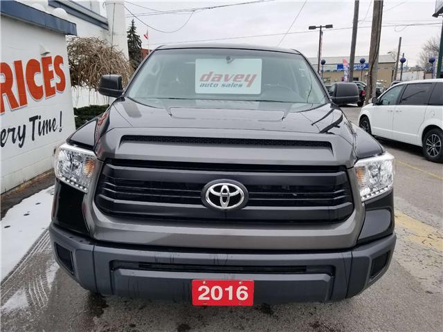 2016 Toyota Tundra SR 5.7L V8 (Stk: 18-725) in Oshawa - Image 2 of 12