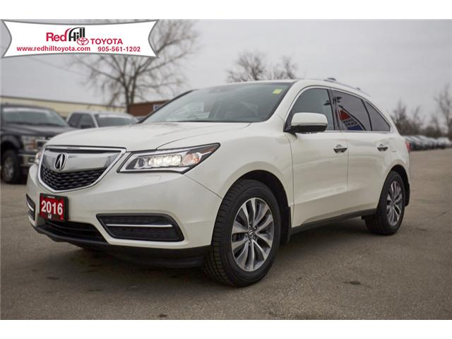 2016 Acura MDX Navigation Package (Stk: 76617) in Hamilton - Image 1 of 21