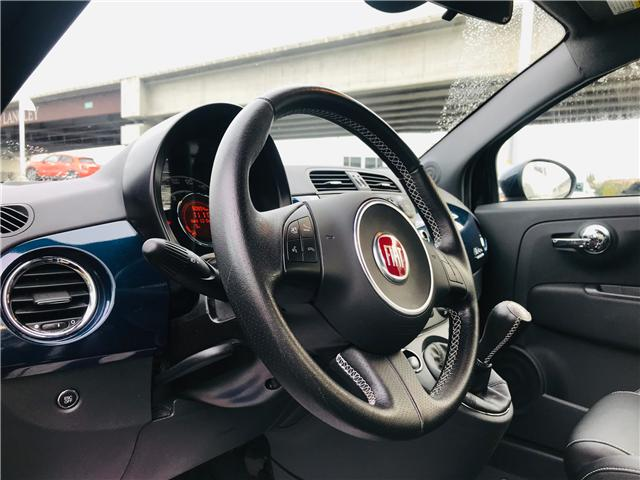 2014 Fiat 500 Sport Turbo (Stk: LF009400) in Surrey - Image 14 of 29