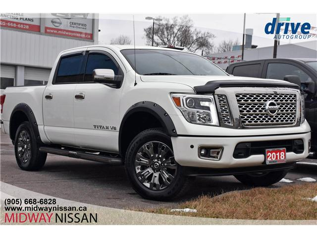 2018 Nissan Titan Platinum (Stk: U1504) in Whitby - Image 1 of 33
