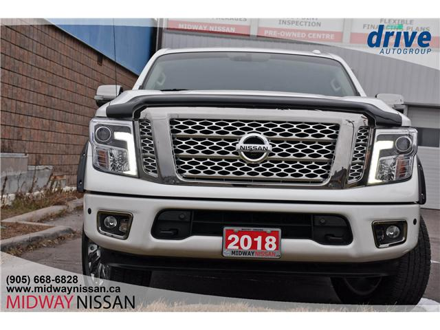 2018 Nissan Titan Platinum (Stk: U1504) in Whitby - Image 2 of 33