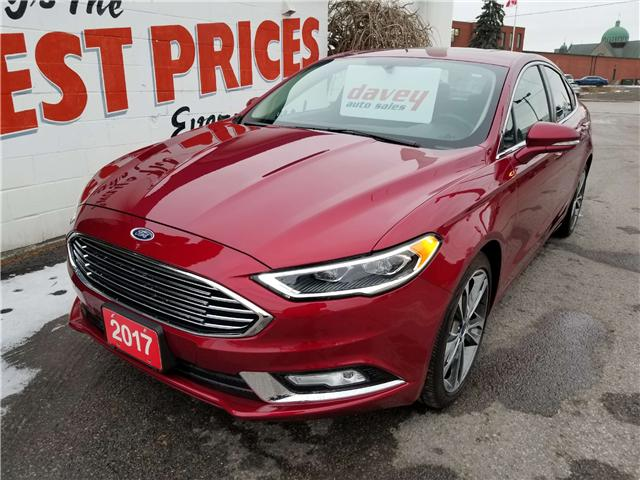 2017 Ford Fusion Titanium (Stk: 18-772) in Oshawa - Image 1 of 18