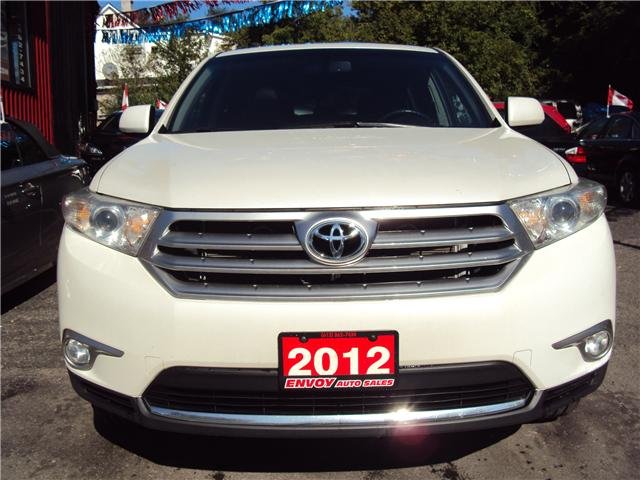 2012 Toyota Highlander V6 Limited (Stk: ) in Ottawa - Image 2 of 30