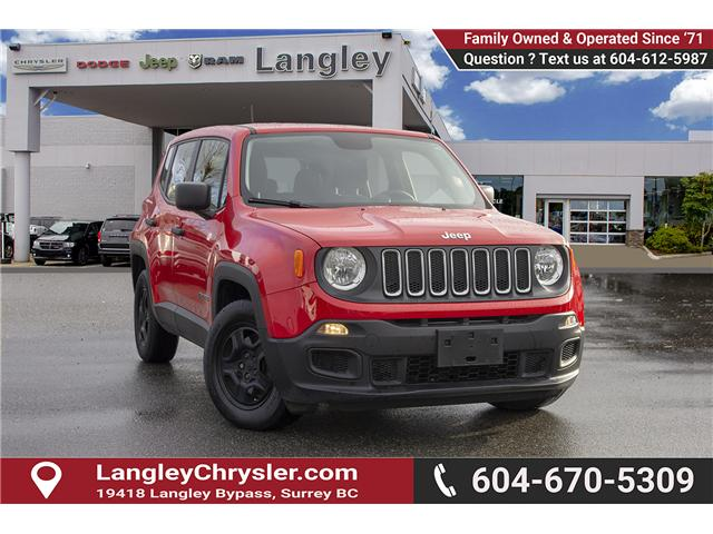 2015 Jeep Renegade Sport (Stk: EE898730A) in Surrey - Image 1 of 23