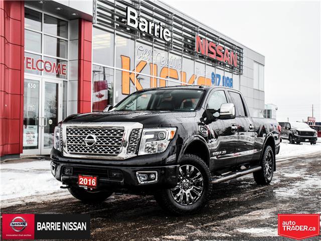 2016 Nissan Titan XD Platinum Reserve Diesel (Stk: 18789A) in Barrie - Image 1 of 30