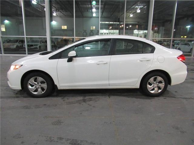 2013 Honda Civic LX, FULLY SAFETY CERTIFIED! (Stk: 9003918A) in Brampton - Image 2 of 25
