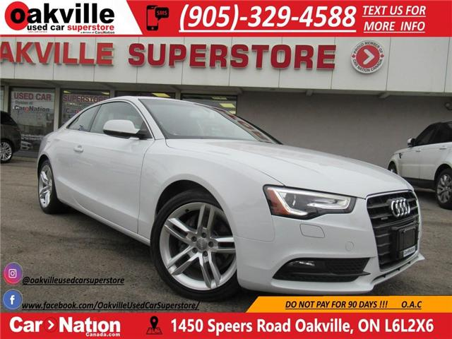 2013 Audi A5 2.0T | PREMIUM | NAVIGATION | LOADED (Stk: P11638) in Oakville - Image 1 of 20