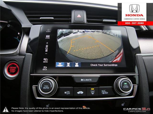 2017 Honda Civic Touring (Stk: 18771A) in Cambridge - Image 21 of 27