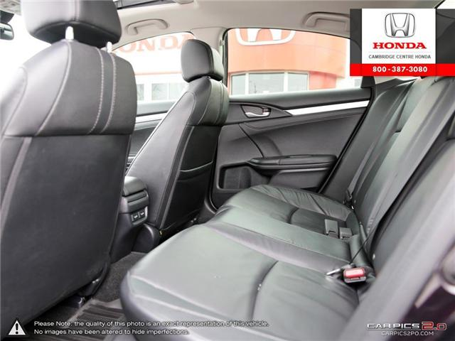 2017 Honda Civic Touring (Stk: 18771A) in Cambridge - Image 25 of 27