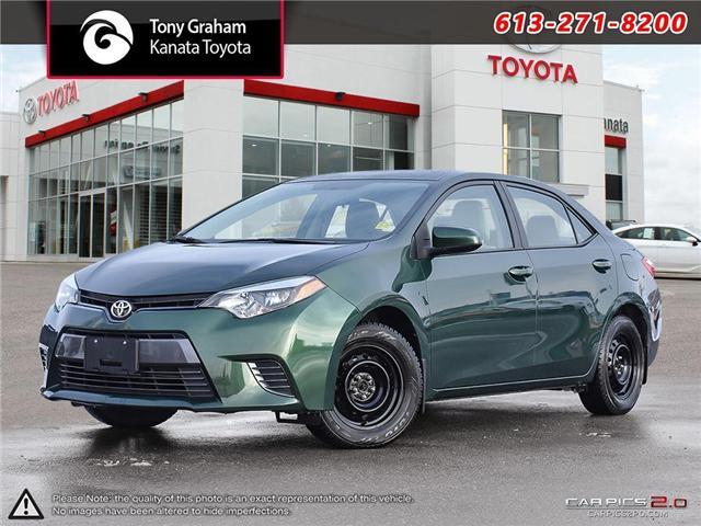 2016 Toyota Corolla  (Stk: M2565) in Ottawa - Image 1 of 27
