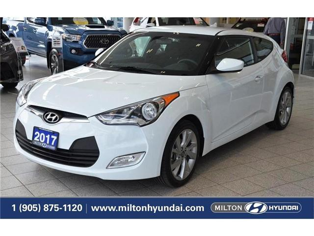 2017 Hyundai Veloster  (Stk: 319012) in Milton - Image 1 of 34