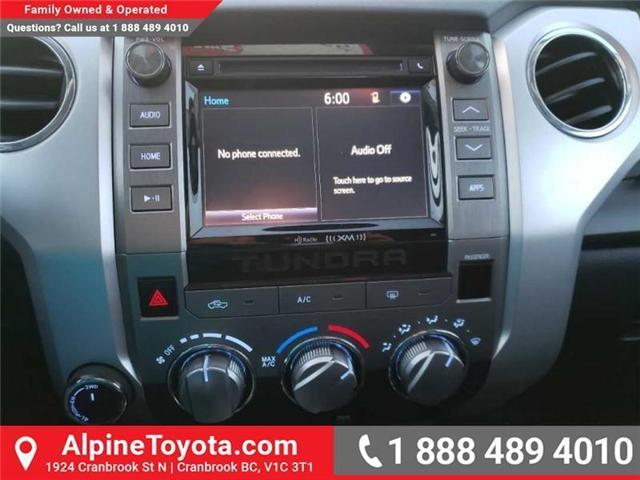 2014 Toyota Tundra SR5 5.7L V8 (Stk: X768930A) in Cranbrook - Image 13 of 15