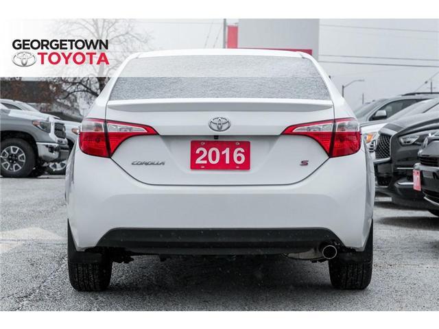 2016 Toyota Corolla  (Stk: 16-38987) in Georgetown - Image 6 of 19