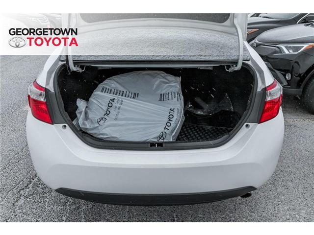 2016 Toyota Corolla  (Stk: 16-38987) in Georgetown - Image 7 of 19