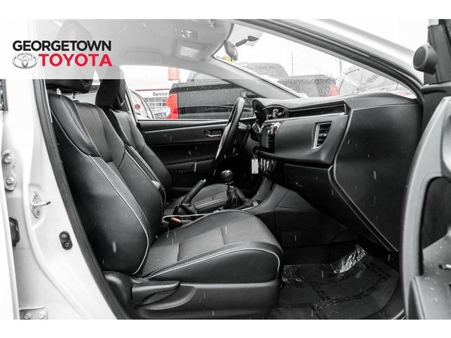 2016 Toyota Corolla  (Stk: 16-38987) in Georgetown - Image 16 of 19