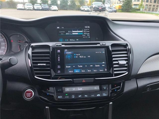 2017 Honda Accord Sport (Stk: 181611P) in Richmond Hill - Image 11 of 21