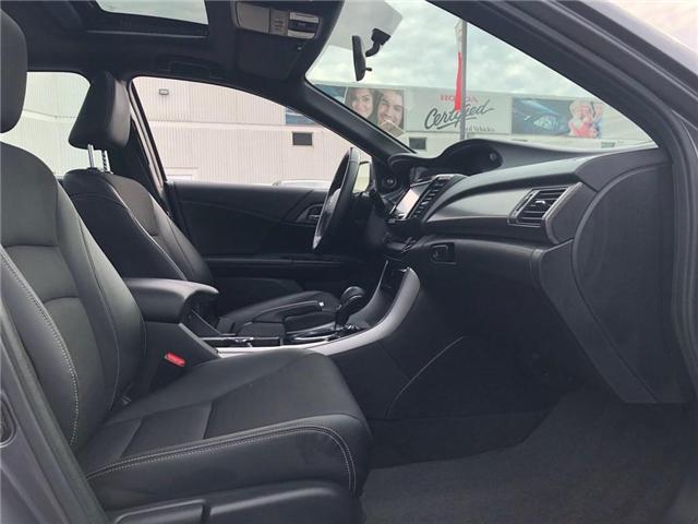 2017 Honda Accord Sport (Stk: 181611P) in Richmond Hill - Image 14 of 21