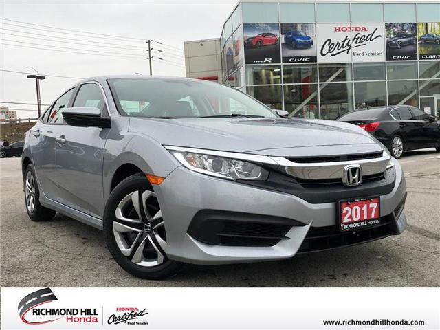 2017 Honda Civic LX (Stk: 2066P) in Richmond Hill - Image 1 of 20