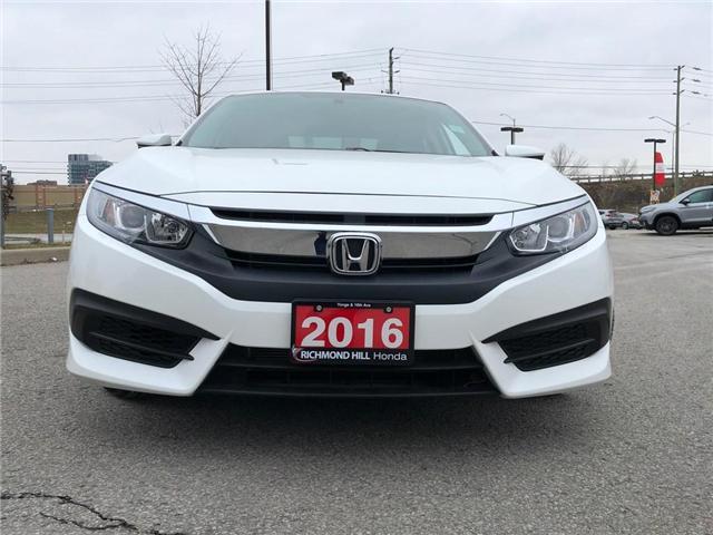 2016 Honda Civic EX (Stk: 190265P) in Richmond Hill - Image 2 of 20