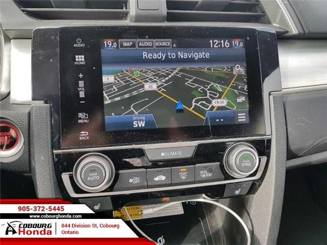 2016 Honda Civic Touring (Stk: 19079A) in Cobourg - Image 11 of 12