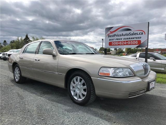 2009 Lincoln Town Car Signature Limited (Stk: A2318) in Miramichi - Image 1 of 27