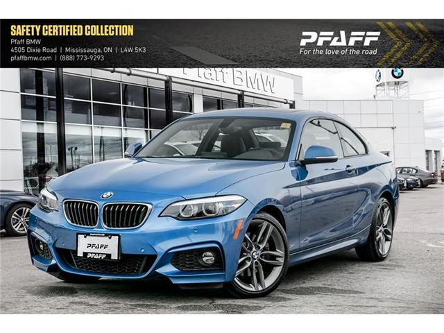 2018 BMW 230i xDrive (Stk: U5207) in Mississauga - Image 1 of 18