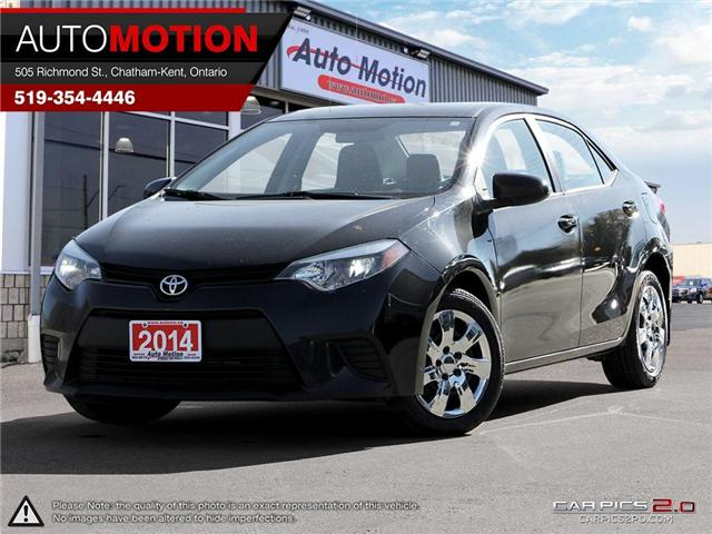 2014 Toyota Corolla LE (Stk: 18_999) in Chatham - Image 1 of 27