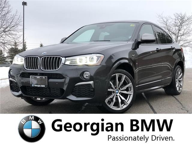 2018 BMW X4 M40i (Stk: P1402) in Barrie - Image 1 of 21