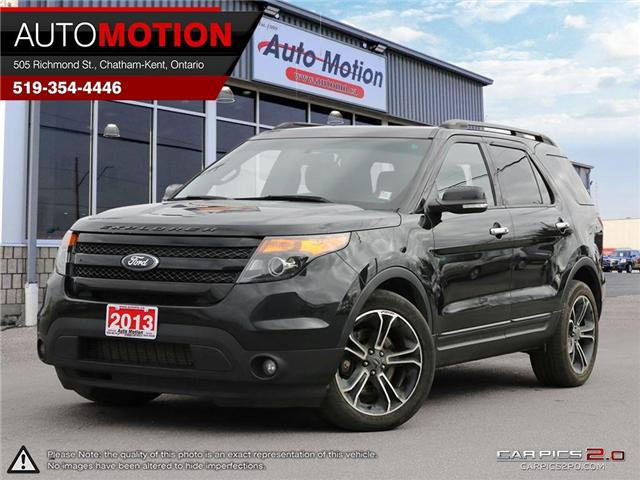 2013 Ford Explorer Sport (Stk: 18_1220) in Chatham - Image 1 of 27