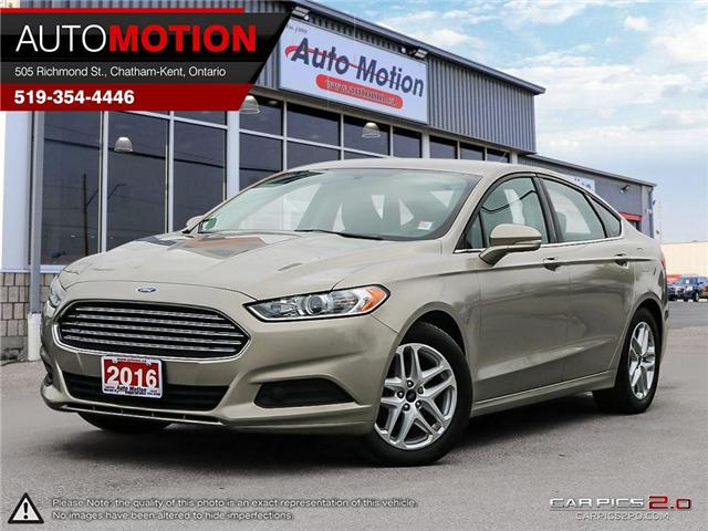 2016 Ford Fusion SE (Stk: 18_1243) in Chatham - Image 1 of 27