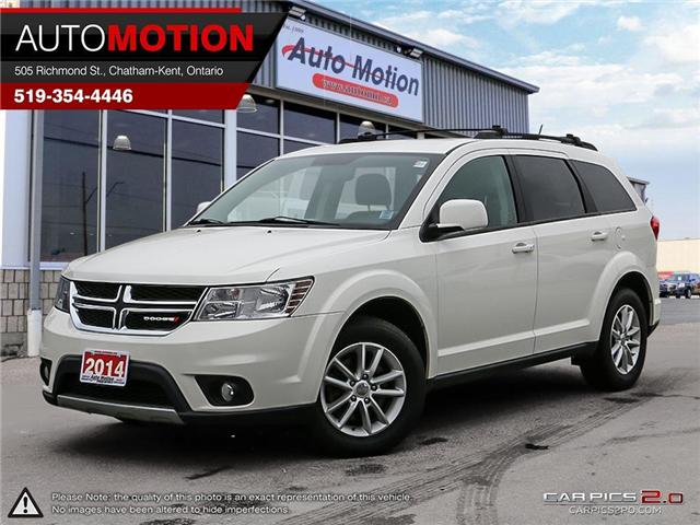 2014 Dodge Journey SXT (Stk: 18_1190) in Chatham - Image 1 of 27
