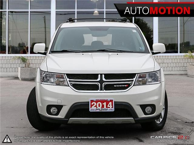 2014 Dodge Journey SXT (Stk: 18_1190) in Chatham - Image 2 of 27