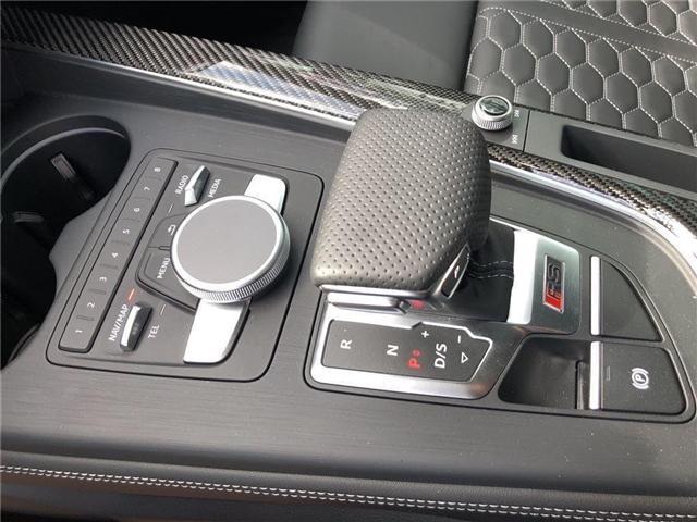 2018 Audi RS 5 2.9 (Stk: N4888) in Calgary - Image 10 of 20