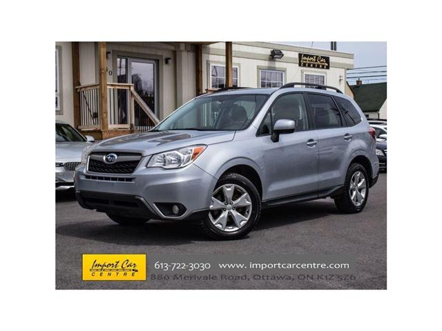 2015 Subaru Forester 2.5i (Stk: 546927) in Ottawa - Image 1 of 24