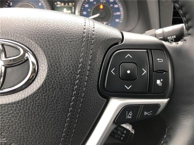 2018 Toyota Sienna  (Stk: P1651) in Whitchurch-Stouffville - Image 14 of 26