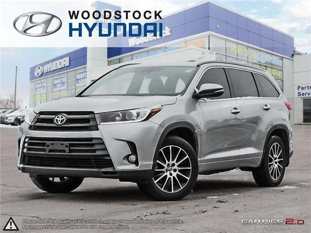 2017 Toyota Highlander XLE (Stk: TN18068A) in Woodstock - Image 1 of 22