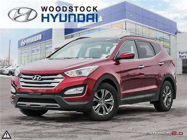2014 Hyundai Santa Fe Sport 2.4 Luxury (Stk: TN18072A) in Woodstock - Image 1 of 22