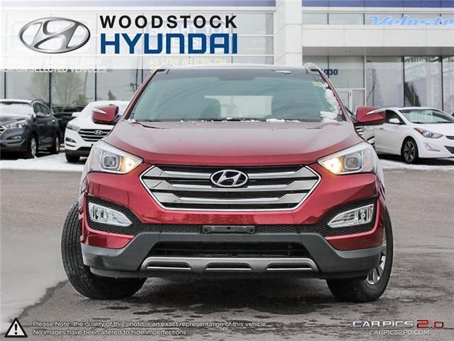 2014 Hyundai Santa Fe Sport 2.4 Luxury (Stk: TN18072A) in Woodstock - Image 2 of 22