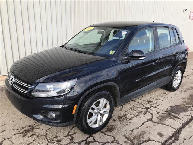 2014 Volkswagen Tiguan Trendline (Stk: X4587A) in Charlottetown - Image 1 of 14