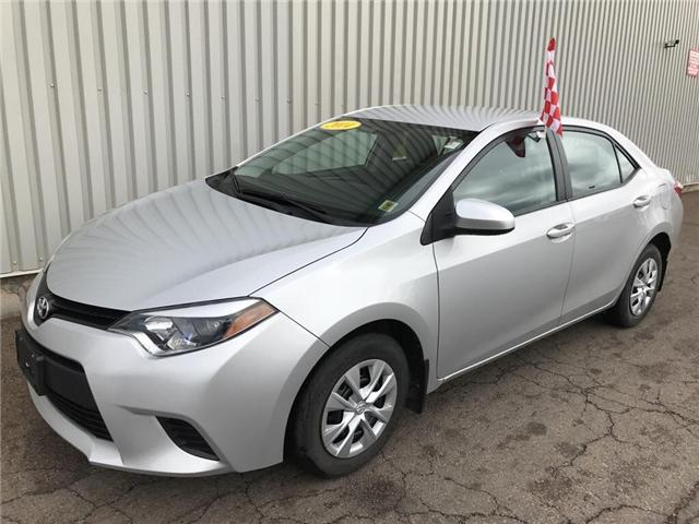 2014 Toyota Corolla CE (Stk: X4534A) in Charlottetown - Image 1 of 16