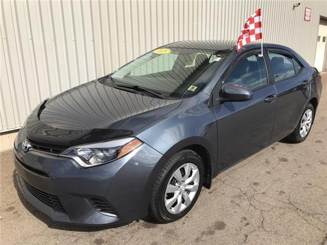 2015 Toyota Corolla CE (Stk: X4542A) in Charlottetown - Image 1 of 17